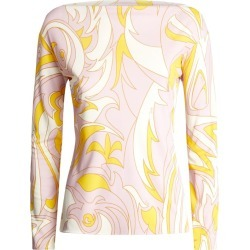 Emilio Pucci Peonia Print Top found on MODAPINS from Harrods Asia-Pacific for USD $787.29