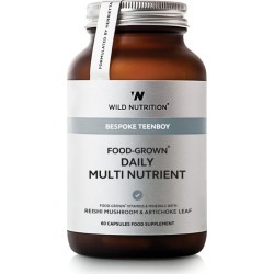 Wild Nutrition Bespoke Teen Boy Food-Grown Daily Multi Nutrient (60 Capsules) found on Bargain Bro UK from harrods.com