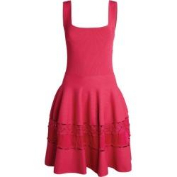 Alexander McQueen Ribbed Knit Mini Dress found on Bargain Bro UK from harrods.com