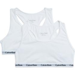 Calvin Klein Kids Pack of 2 Logo Bralettes (8-16 Years) found on Bargain Bro UK from harrods.com
