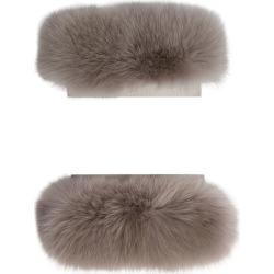 Max Mara Fox Fur Cuffs found on Bargain Bro UK from harrods.com