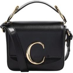 Chloé Mini Leather Chloé C Bag found on Bargain Bro UK from harrods.com