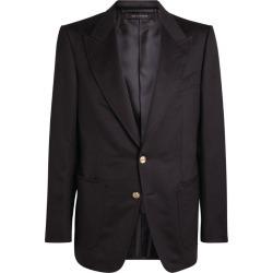 Tom Ford Shelton Single-Breasted Blazer found on Bargain Bro UK from harrods.com