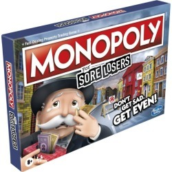Hasbro Games Monopoly for Sore Losers found on Bargain Bro UK from harrods.com