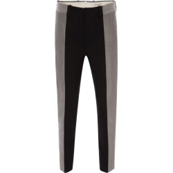 Alexander McQueen Spliced Tailored Trousers found on Bargain Bro UK from harrods.com