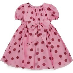 Dolce & Gabbana Kids Polka-Dot Silk Dress found on Bargain Bro from harrods.com for £779