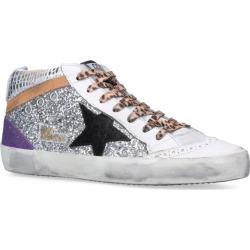 Golden Goose Mid Star Embellished Sneakers found on Bargain Bro UK from harrods.com