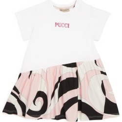 Emilio Pucci Junior Heliconia Print T-Shirt Dress (3-24 Months) found on Bargain Bro UK from harrods.com