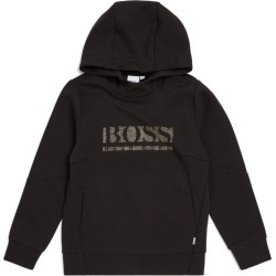 Boss Kidswear Gold Capsule Logo Hoodie (4-16 Years) found on GamingScroll.com from Harrods Asia-Pacific for $159.11
