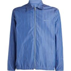 Marni Striped Zip-Up Shirt Jacket found on Bargain Bro UK from harrods.com