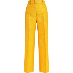 Gucci GG Supreme Flared Tailored Trousers found on Bargain Bro UK from harrods.com