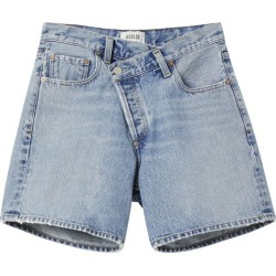 Agolde Criss Cross Denim Shorts found on MODAPINS from harrods (us) for USD $228.00