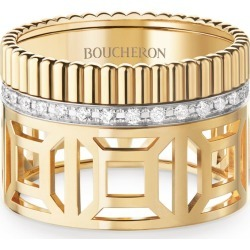 Boucheron Yellow Gold and Diamond Quatre Radiant Edition Ring found on MODAPINS from harrods.com for USD $6170.13