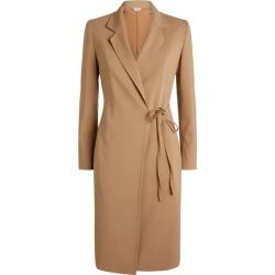 Max Mara Wool-Rich Wrap Mini Dress found on Bargain Bro UK from harrods.com