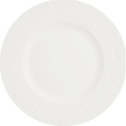 Villeroy & Boch Manufacture Rock Blanc Salad Plate (22cm) found on Bargain Bro UK from harrods.com