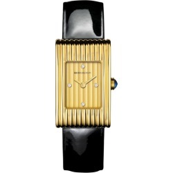 Boucheron Yellow Gold and Diamond Reflet Watch 18mm found on MODAPINS from harrods.com for USD $12521.18