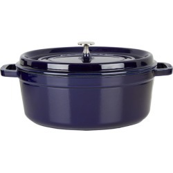 Staub Blue Oval Cocotte (31Cm) found on Bargain Bro India from harrods (us) for $281.00