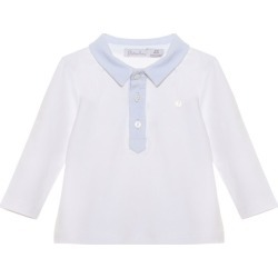 Patachou Cotton Polo Shirt (3-24 Months) found on Bargain Bro UK from harrods.com