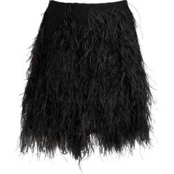 Giambattista Valli Ostrich Feather Mini Skirt found on MODAPINS from harrods.com for USD $3491.41