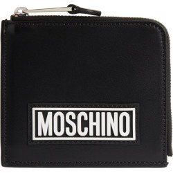 Moschino Leather Zip-Around Coin Purse found on Bargain Bro UK from harrods.com