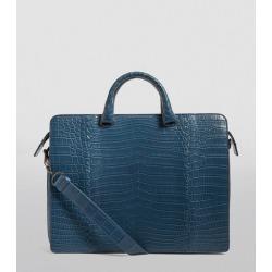 Bottega Veneta Crocodile Briefcase found on Bargain Bro UK from harrods.com