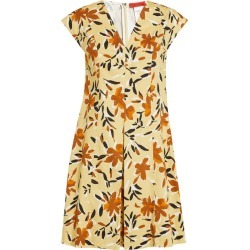 Max & Co. Floral V-Neck Mini Dress found on Bargain Bro from harrods (us) for USD $87.40