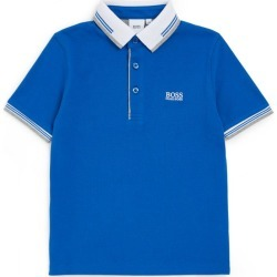 Boss Kids Contrast-Trim Polo Shirt (4-16 Years) found on Bargain Bro UK from harrods.com
