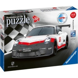 Ravensburger Porsche GT3 Cup 3D Jigsaw Puzzle (108 pieces) found on Bargain Bro UK from harrods.com