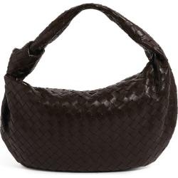 Bottega Veneta Large Leather BV Jodie Shoulder Bag found on Bargain Bro UK from harrods.com