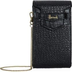 Harrods Nano Mini Black Phone Bag found on Bargain Bro UK from harrods.com