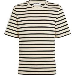 Jil Sander Cotton Striped T-Shirt found on Bargain Bro UK from harrods.com