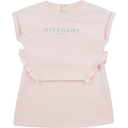 Givenchy Kids Logo Ruffled Dress (6-36 Months) found on Bargain Bro UK from harrods.com