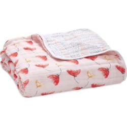 Aden + Anais Poppies Dream Blanket