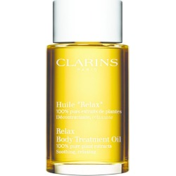Clarins Body Treatment Oil for Soothing/Relaxing (100ml) found on Makeup Collection from harrods.com for GBP 46.69