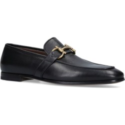 Salvatore Ferragamo Leather Sherman Buckle Loafers found on Bargain Bro UK from harrods.com