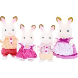Sylvanian Families Chocolate Rabbit Family found on Bargain Bro India from Harrods Asia-Pacific for $26.07