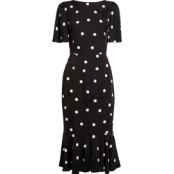 Dolce & Gabbana Silk Polka-Dot Dress found on Bargain Bro from harrods.com for £1659