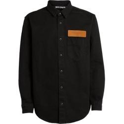 Palm Angels Long-Sleeved Logo Shirt found on Bargain Bro UK from harrods.com