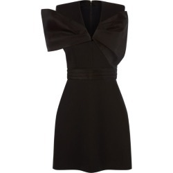 Alexander McQueen Bow-Detail Mini Dress found on MODAPINS from harrods.com for USD $2405.29