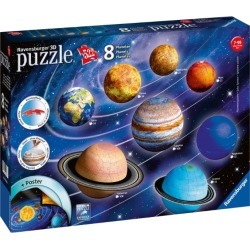 Ravensburger Solar System 3D Puzzles (522 pieces) found on Bargain Bro from harrods.com for £53