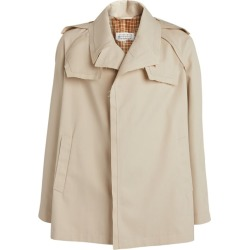 Maison Margiela Raw-Edge Overcoat found on Bargain Bro India from Harrods Asia-Pacific for $1647.50