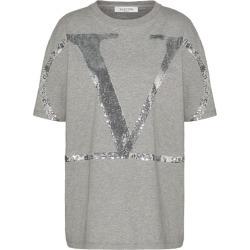 Valentino Sequinned VLOGO T-Shirt found on Bargain Bro UK from harrods.com