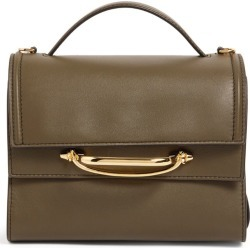Alexander McQueen Leather The Story Top-Handle Bag found on Bargain Bro UK from harrods.com