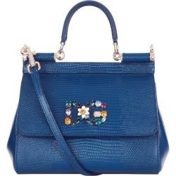Dolce & Gabbana Mini Sicily Top Handle Bag found on Bargain Bro UK from harrods.com