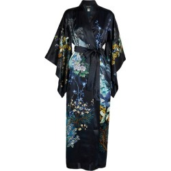 Meng Floral Silk Long Kimono found on MODAPINS from harrods.com for USD $1565.93
