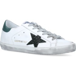 Golden Goose Glitter Superstar Sneakers found on Bargain Bro UK from harrods.com