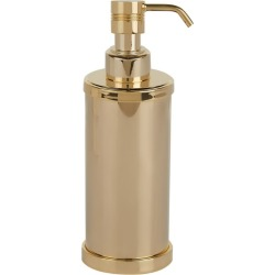 ZODIAC Cylinder Gold-Plated Soap Dispenser found on Bargain Bro UK from harrods.com