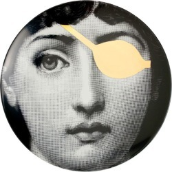 Fornasetti Tema E Variazioni Wall Plate (No. 8) found on MODAPINS from Harrods Asia-Pacific for USD $301.54