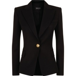 Balmain Single-Breasted Wool Blazer found on Bargain Bro UK from harrods.com