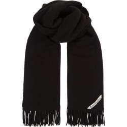 Acne Studios Oversized Canada Scarf found on Bargain Bro UK from harrods.com